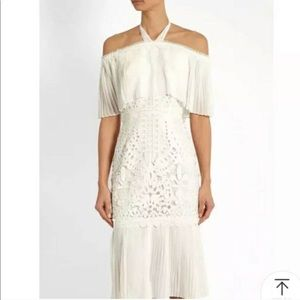 NWOT Temperly London white lace dress